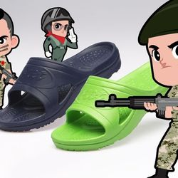[군납용슬리퍼]보급군용군대군인신상 군용슬리퍼
