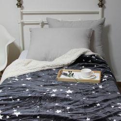 밀키웨이 그레이 밍크 블랑켓 담요 (160x210cm)
