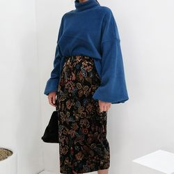 Forest long skirt