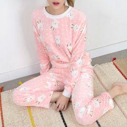 P5972 토끼 라이트 수면 잠옷세트