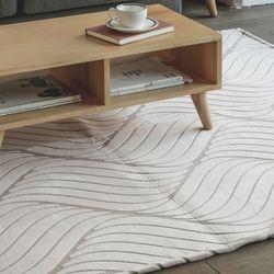 [포홈LA]웨이브 극세사 카페트5mm (100X150)러그카펫
