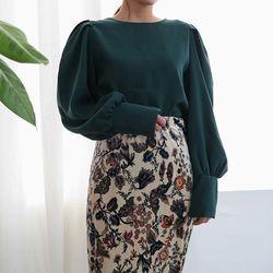Puff modern blouse