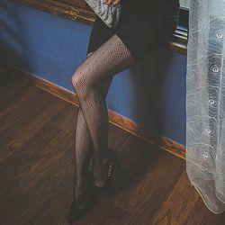 도트망사스타킹 팬티스타킹 패션스타킹 무지 여성