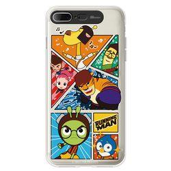 라인 iPhone8+ 7Plus 런닝맨 CLEAR 라이팅 케이스