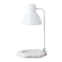 플루토5 빛조절 캔들워머 - 화이트+화이트대리석
