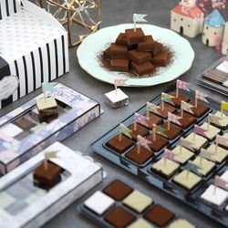G 로맨틱플래그 파베 초콜릿 만들기 세트 VER.2019