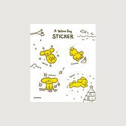 황금강아지 스티커