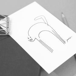 후리 드로잉 엽서 (Hoo-ri Postcard)