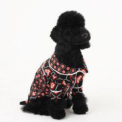 [옵션가확인후오픈] 러브핫핏 스윗 홈웨어 강아지 셔츠 블랙
