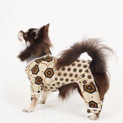 [옵션가확인후오픈] 러브핫핏 스윗 홈웨어 강아지 셔츠 베이지