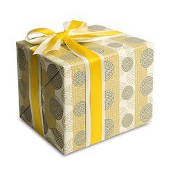 포장지 전통 구슬이음패턴 황색 (1개)