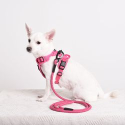 미스앤허그 M&H 강아지 하네스 가슴줄 (S 사이즈)