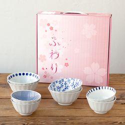 니코트 밥공기 국그릇 4인 선물세트 JAPAN