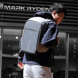 마크라이든 도난방지 USB충전 백팩 노트북가방 MR0001B
