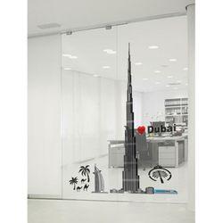 포인트스티커(KR-0071)2장1세트 두바이 타워투명원단