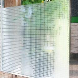 무점착창문시트지 사각타일(JXS95008)