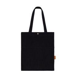 [알파럭션] TWO POCKET BAG - TR-1704 BLACK