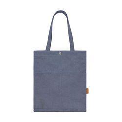 [알파럭션] TWO POCKET BAG - TR-1704 DENIM NAVY