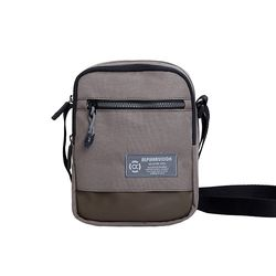 [알파럭션] mini pocket crossbag - TR1803-BROWN