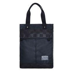 [알파럭션] two pocket tote bag - TR1804-BLACK