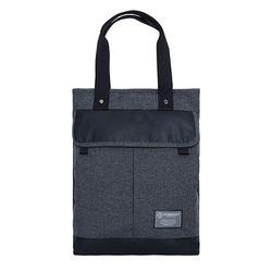 [알파럭션] two pocket tote bag - TR1804-DGREY