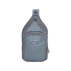[알파럭션] pocket slingbag  - TR1805-DENIM GREY