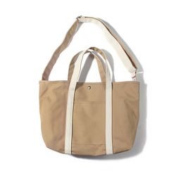 CANVAS BASIC TOTE-BEIGE.NATURAL