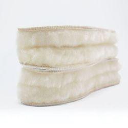 천연 양털 겨울 남자 여자 신발 방한 깔창