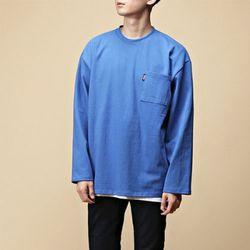 [매트블랙] 루프 오버 라운드 티셔츠