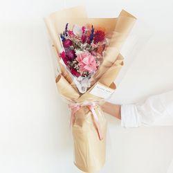 블룸핑크 꽃다발 + 화병