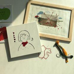 [원데이] 홍단단_실로 그리는 당신의 초상