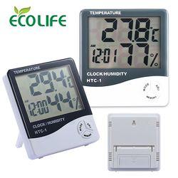 HTC-1 디지털 온습도계   시계  알람  온도  습도기능