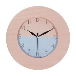 무소음 텍스춰 인테리어 벽시계 예쁜시계