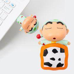 [무료배송] 정품  짱구 3D 피규어 USB메모리 CYUM-F01 (32GB)