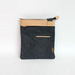 [알파럭션] cross bag - TR0949-DGREY