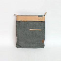 [알파럭션] cross bag - TR0949-GREY