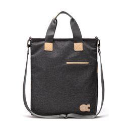 [알파럭션] cross bag - TR0948-DGREY