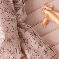 핑크베베 일체형 낮잠이불