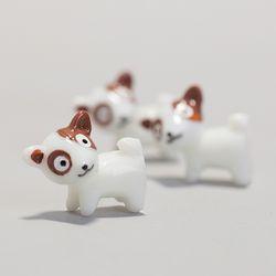 테라리움 강아지 미니어처 3P