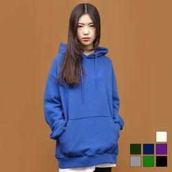 2019 삼단 쭈리 후드티셔츠 (7colors)