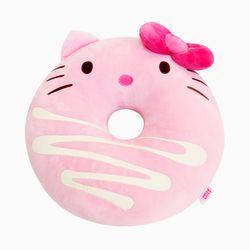 헬로키티 페이스 도넛쿠션