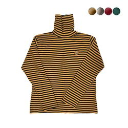 G Stripe Turtleneck T-shirt(UNISEX)