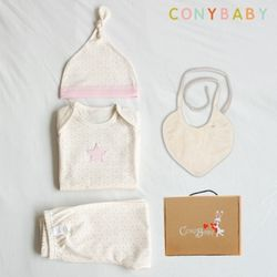 [무료배송/선물박스증정] [CONY]오가닉팅커벨백일선물4종세트(선물박스포함)