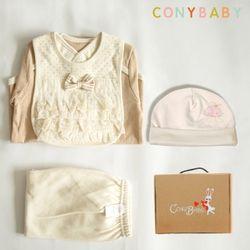 [무료배송/선물박스증정] [CONY]오가닉백설공주백일선물4종세트(선물박스포함)