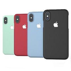 로고마크 핏엔 매트 슬림 11컬러 아이폰X 8 8플러스