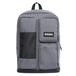 MESH SQUARE BACKPACK - CHARCOAL