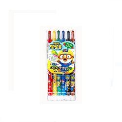 [뽀로로] 샤프식 색연필 6색