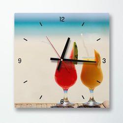 tb032-한가로운해변의여유인테리어벽시계