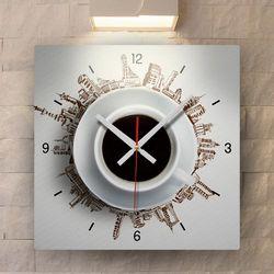 tb024-커피로하나되다인테리어벽시계