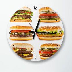 tb034-햄버거좋아인테리어벽시계